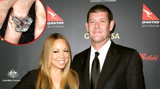 Newly engaged Mariah Carey and Fiance James Packer