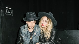 Mark Ballas and fiancee BC Jean
