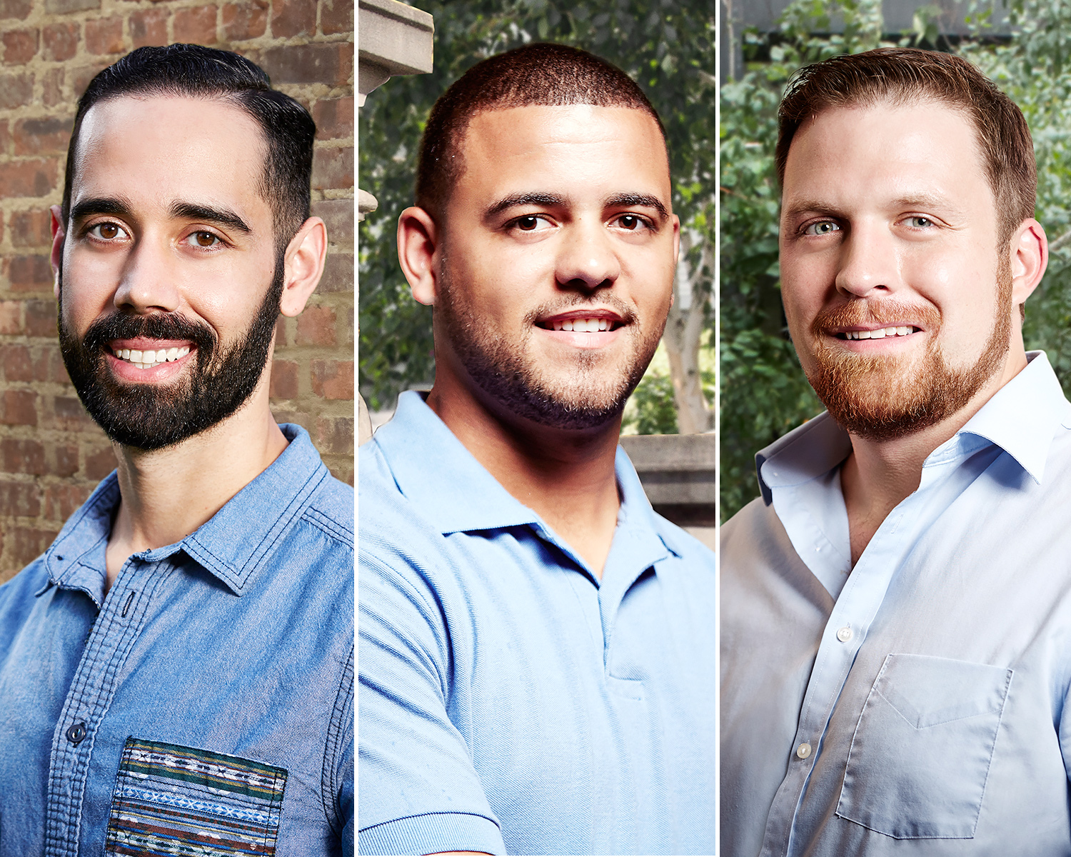 Married at First Sight's Neil, Tres and David