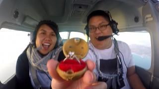 Pilot proposing in plane during fake emergency
