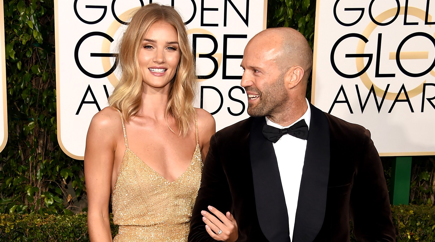 Rosie Huntington-Whiteley, Jason Statham Engaged: Ring!