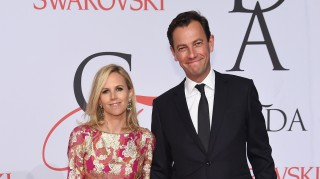 Tory Burch and fiance Pierre-Yves Roussel