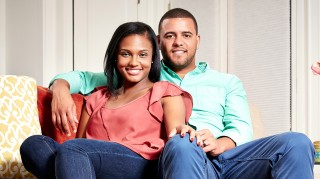 Married at First Sight's Vanessa and Tres at home together