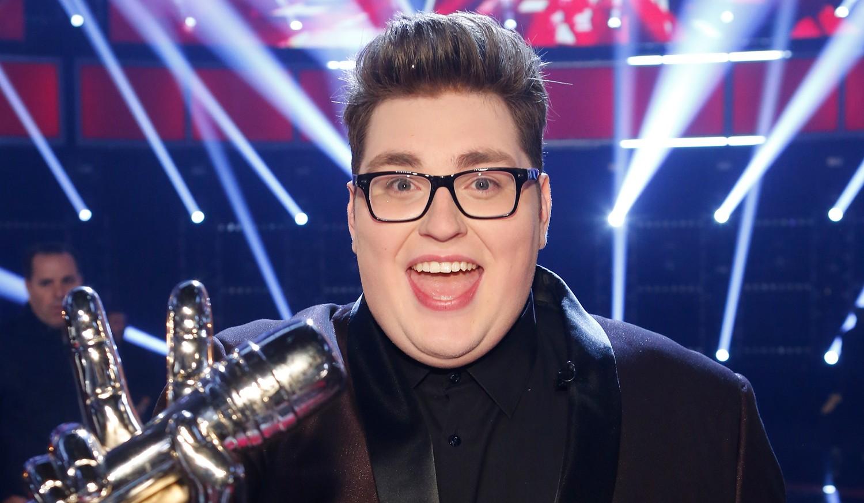 The Voice winner Jordan Smith