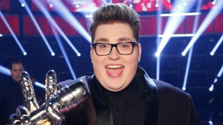 The Voice winner Jordan Smith