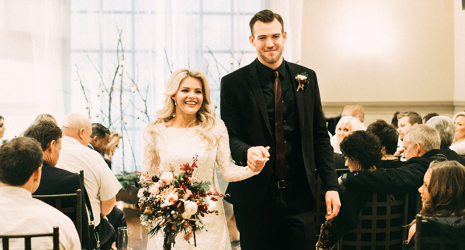 Witney Carson And Carson McAllisters Wedding Photos