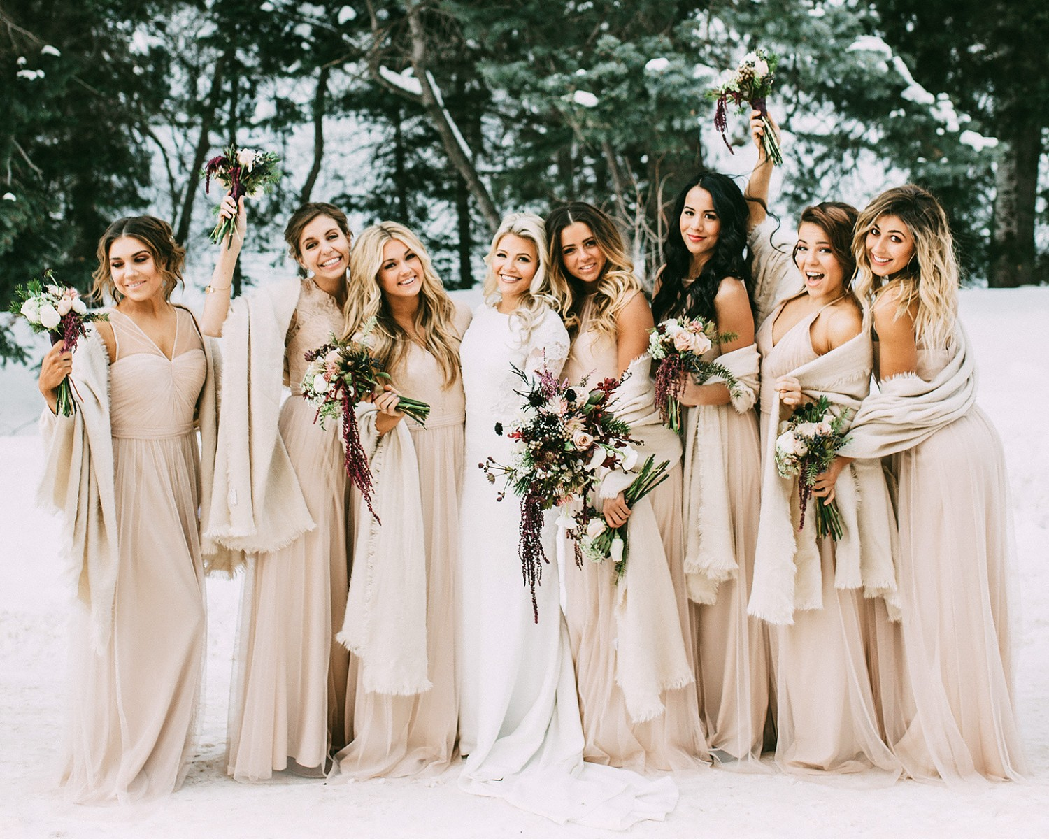 Celebrity Bridesmaids See Taylor Swift Beyonce And More In Weddings