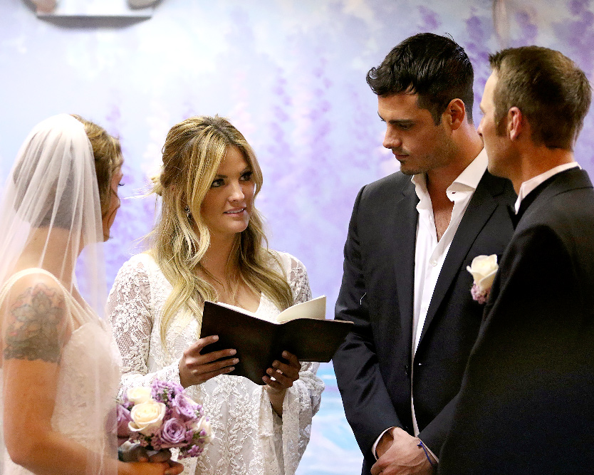 Couple Married By The Bachelor S Ben Higgins Talk Wedding