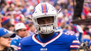 Buffalo Bills linebacker Tony Steward