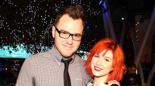 Hayley Williams and Chad Gilbert married