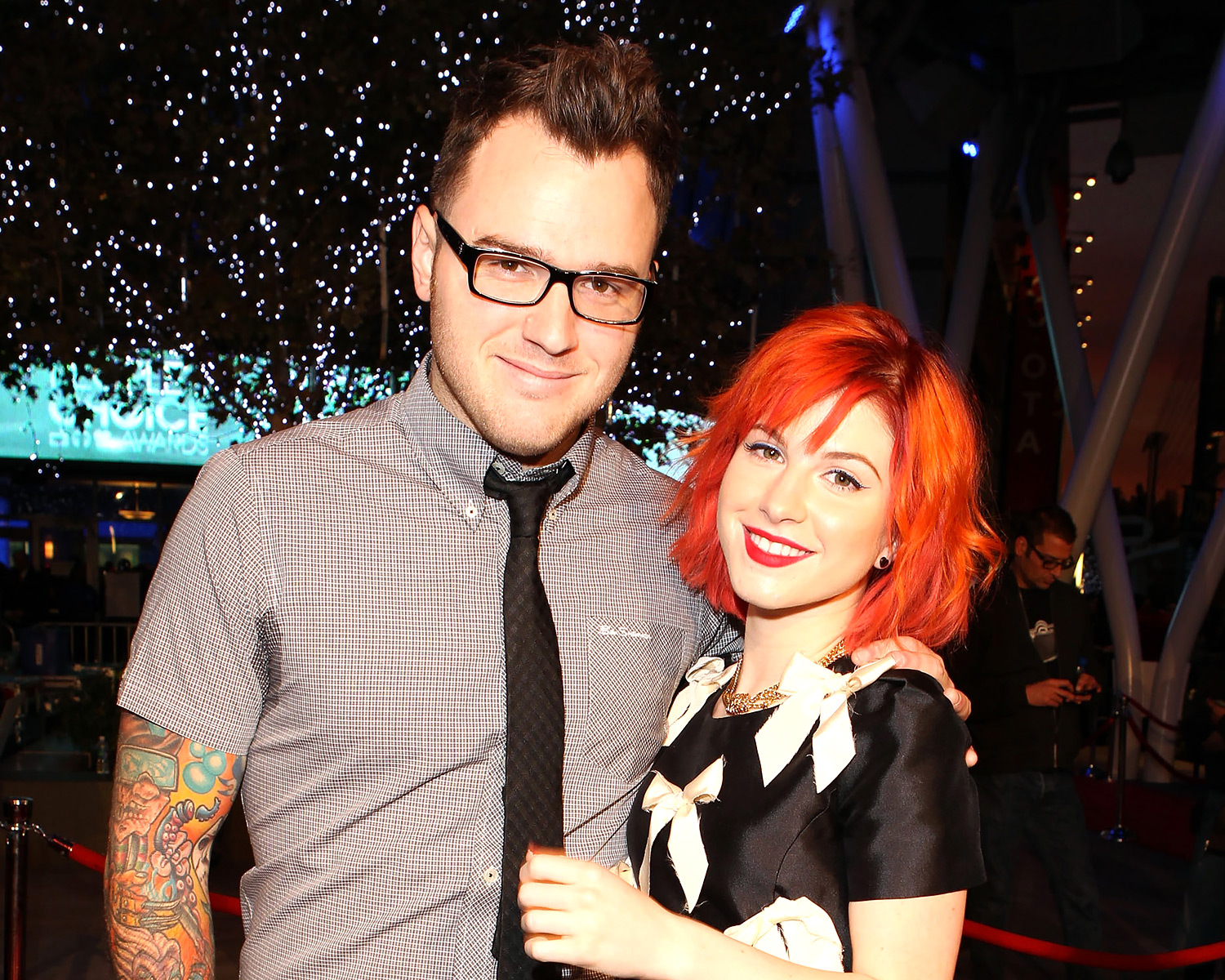 Paramore S Hayley Williams Marries Chad Gilbert Photo