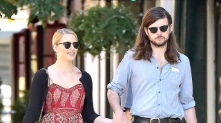 Dianna Agron and Winston Marshall engaged