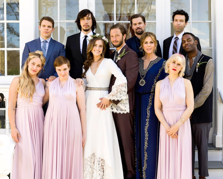 Girls Cast Including Zosia Mamet, Lena Dunham, Allison Williams And Jemima  Kirke