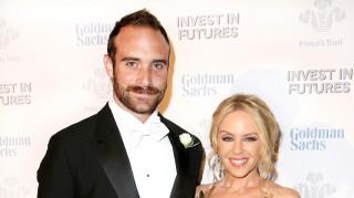Joshua Sasse and Kylie Minogue Engaged