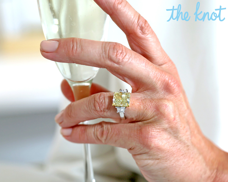 Real Housewives Luann De Lesseps Surprise Proposal Story