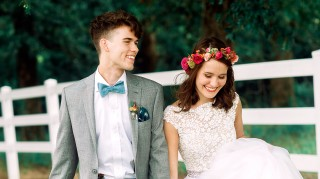Duck Dynasty's John Luke Robertson and Mary Kate McEacharn wedding
