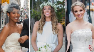 Monet Bell, Jamie Otis and Cortney Hendrick wedding dresses