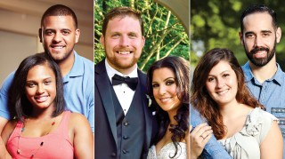 Married at First Sight's Vanessa, Tres, David, Ashley, Sam and Neil