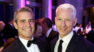 Andy Cohen and Anderson Cooper crashed a wedding