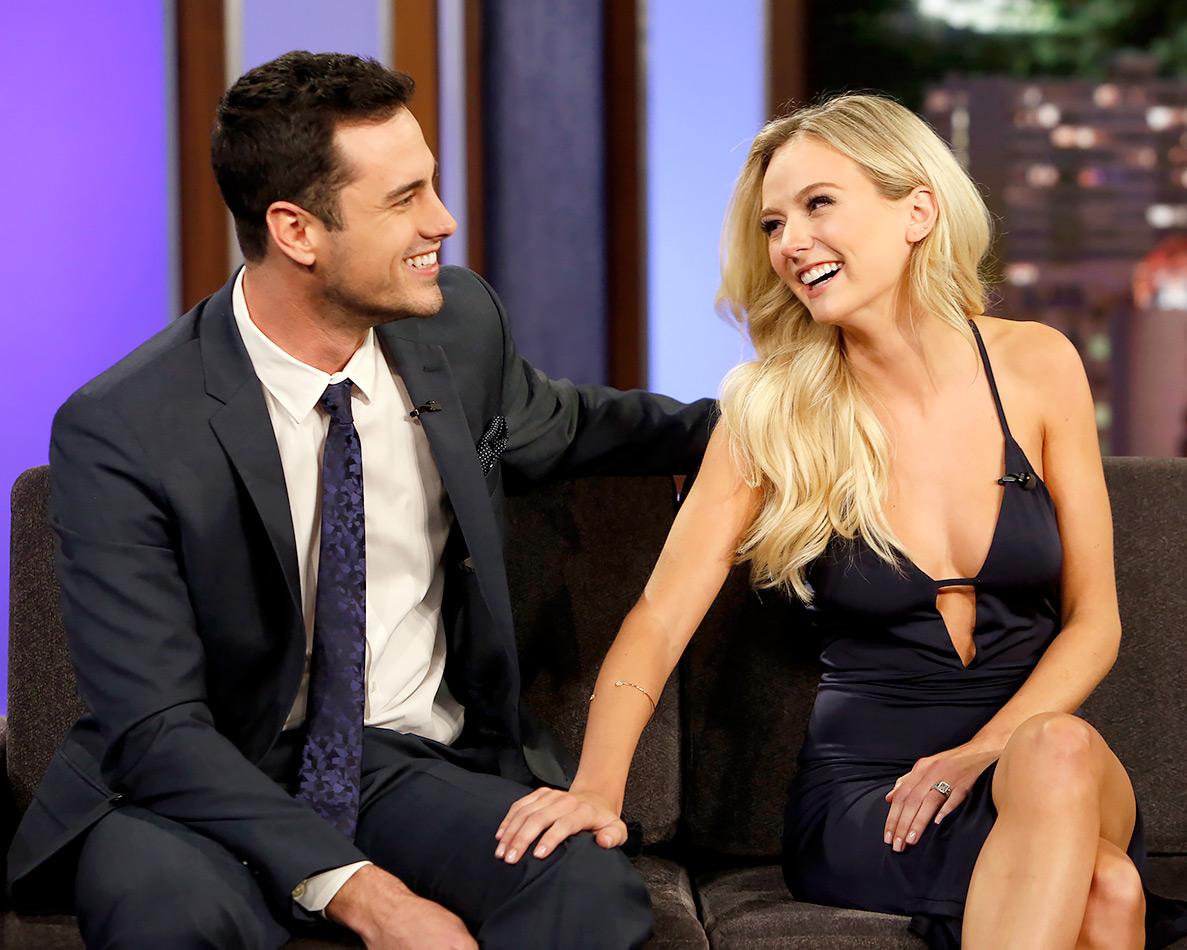 Bachelor's Lauren Bushnell and Ben Higgins on Jimmy Kimmel Live