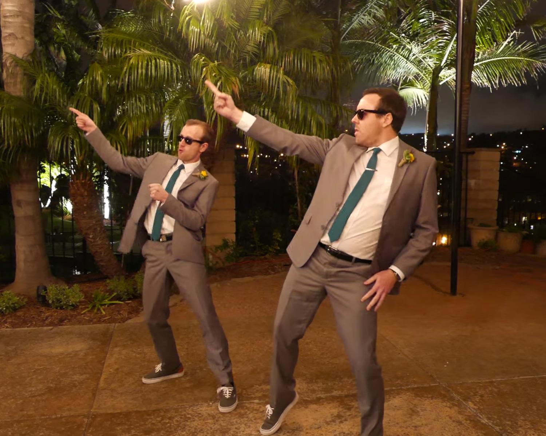 Best Men Kill It With Beyonce Nsync Drake Wedding Dance