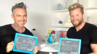 Newlyweds' Brandon Liberati and Craig Ramsay
