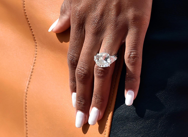Ciara's engagement ring