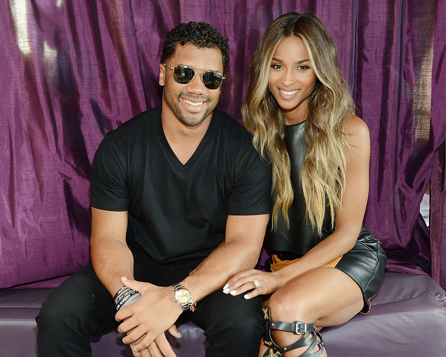 f070f52e1ca54 Ciara Shows Off Huge Engagement Ring from Russell Wilson
