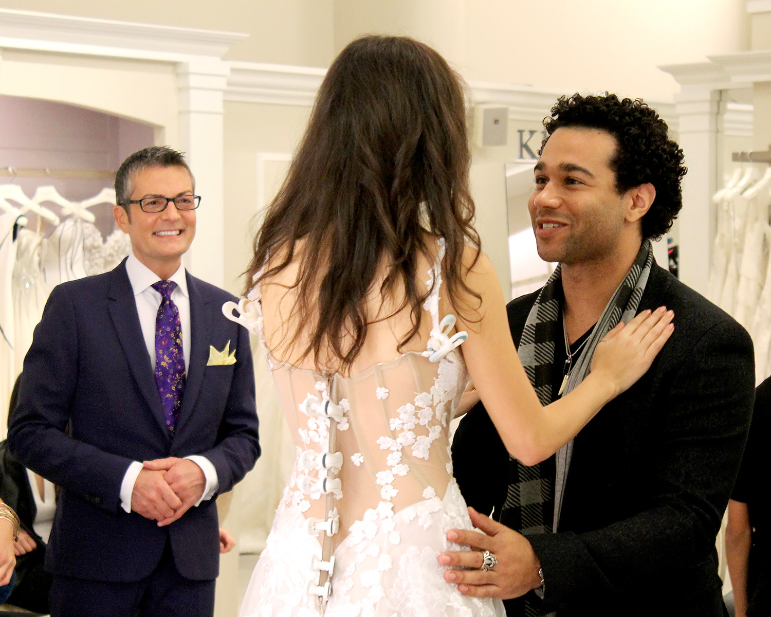 Corbin Bleu and Sasha Clements on Say Yes to the Dress