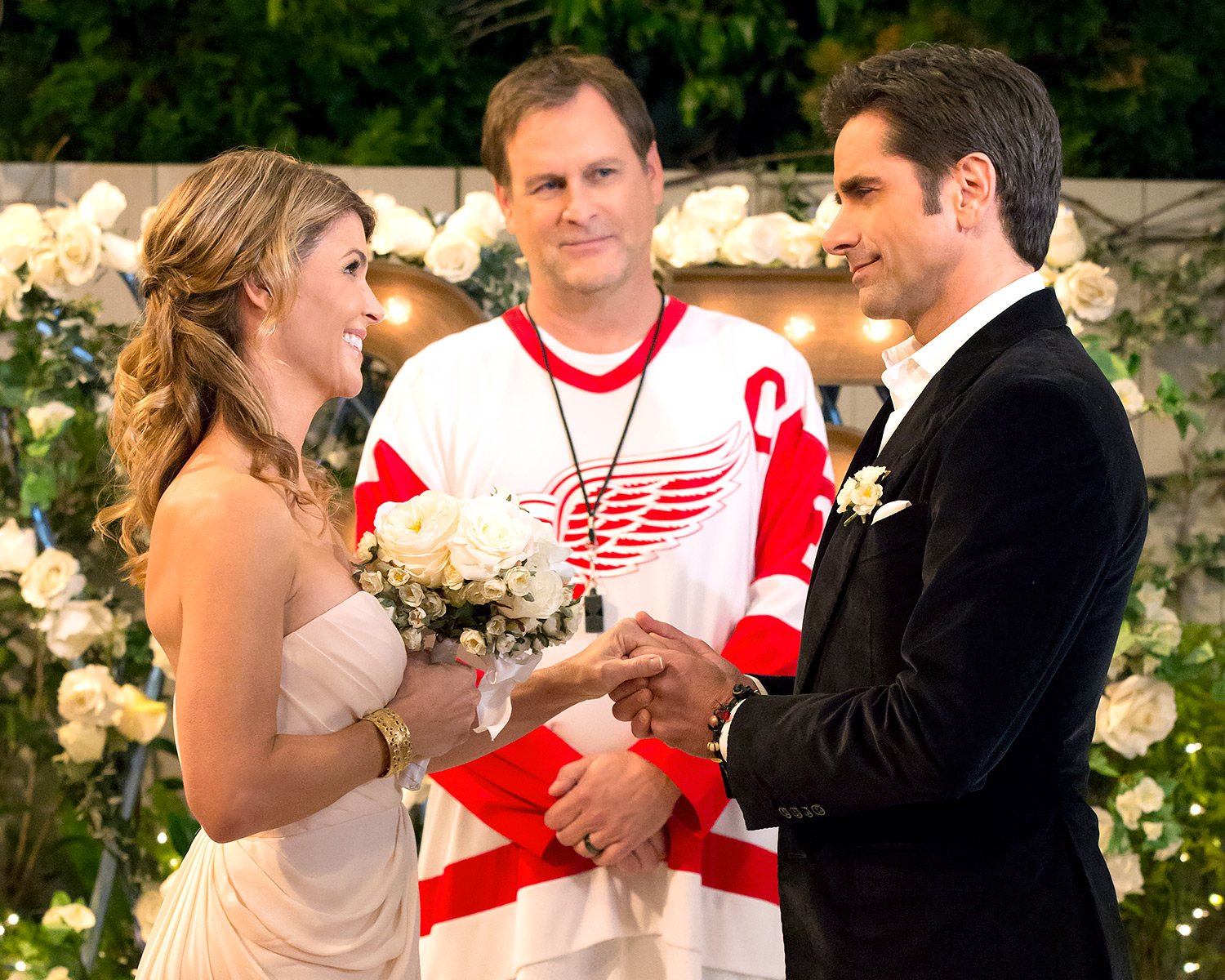 Uncle Jesse Aunt Becky S Fuller House Wedding Vow Renewal