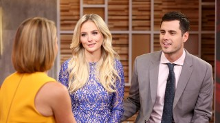 Bachelor's Lauren Bushnell and Ben Higgins on Good Morning America