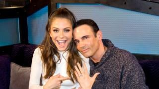 Maria Menounos engagement ring