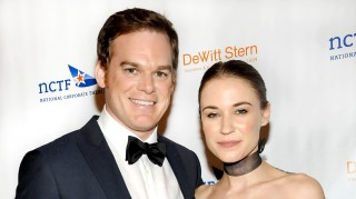 Michael C. Hall and Morgan Macgregor married