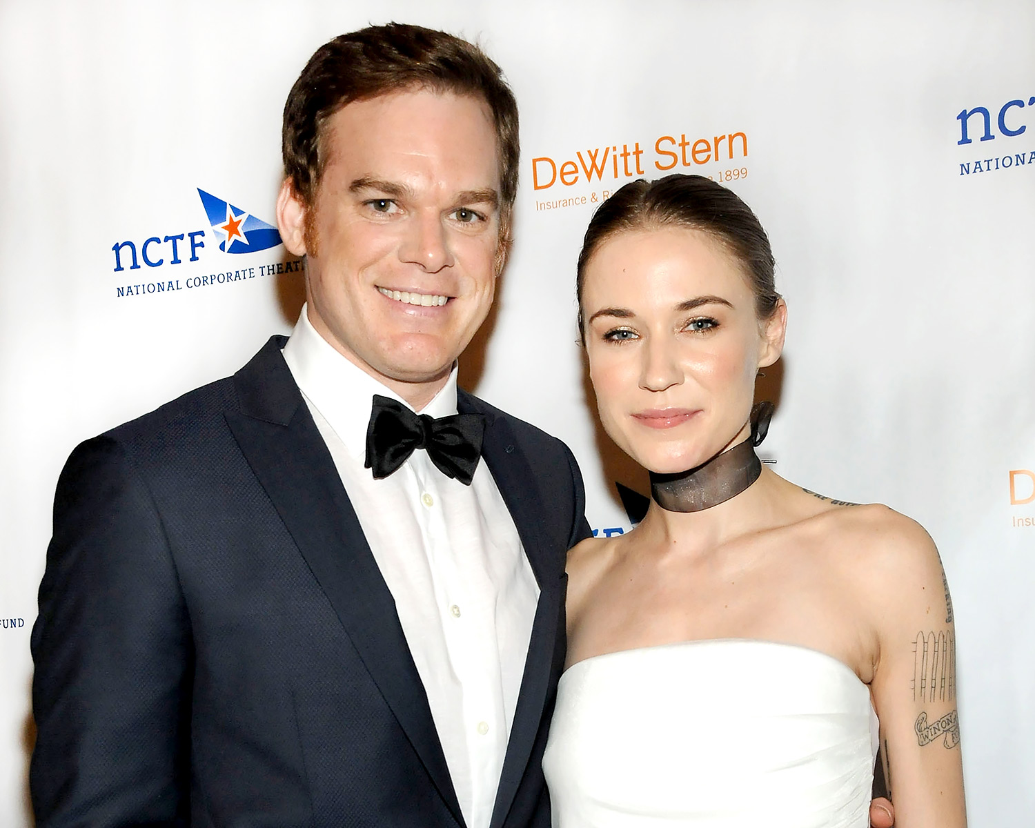 Dexter's Michael C. Hall, Morgan Macgregor Married at City Hall
