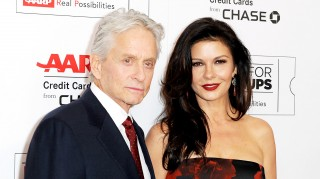 Michael Douglas and Catherine-Zeta Jones