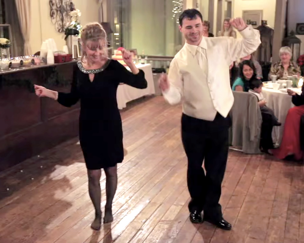 "Unforgettable"" Mother-Son Wedding Dance Goes Viral"