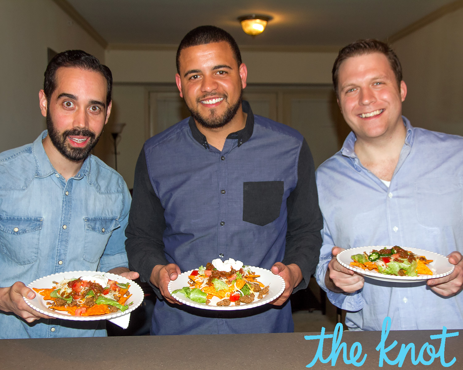 Married at First Sight's Neil Bowlus, Tres Russell and David Norton