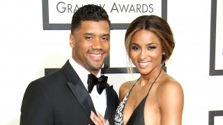 Russell Wilson and fiancee Ciara