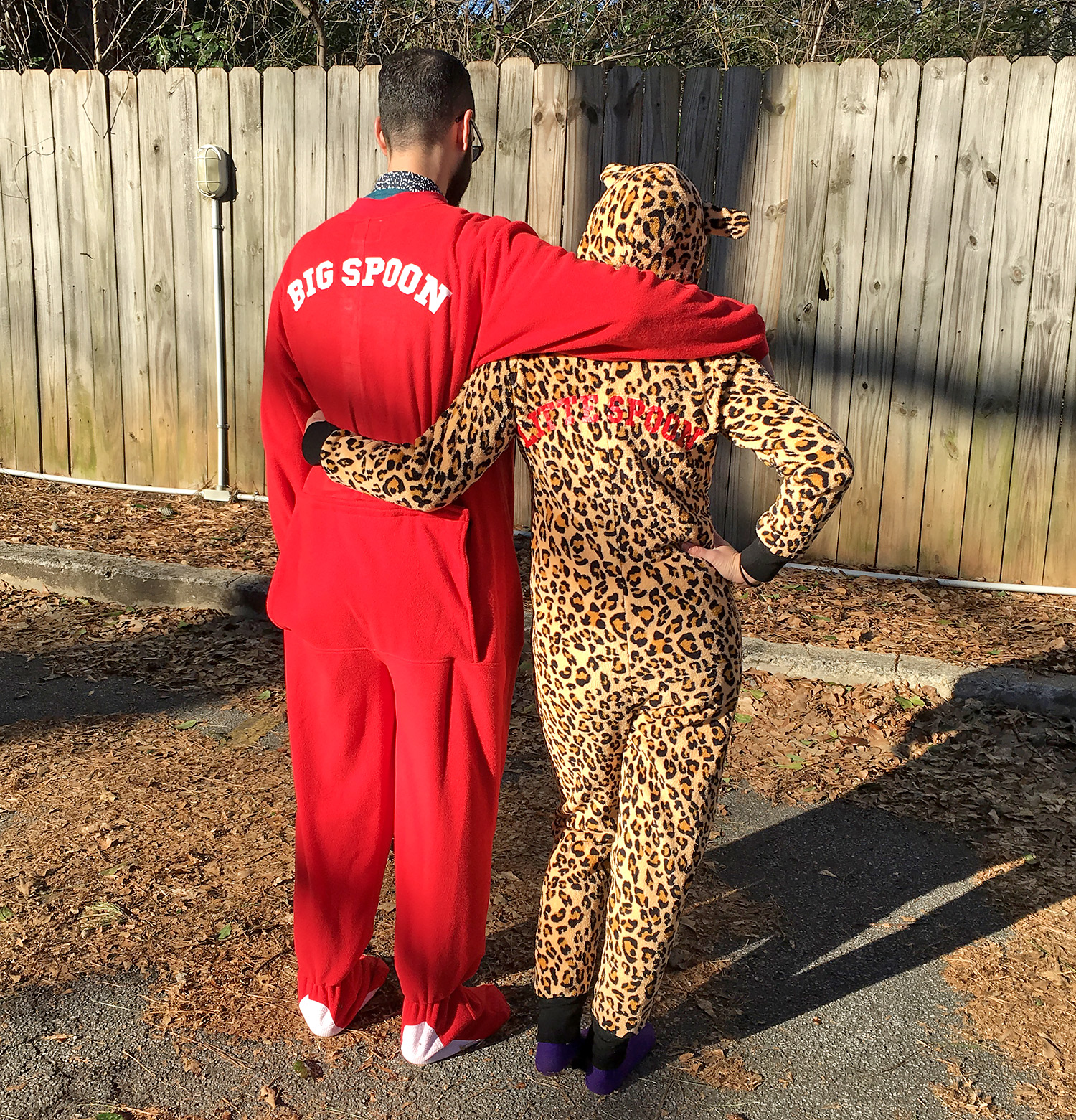 Married at First Sight's Neil Bowlus and Sam Role onesie pajamas
