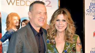Tom Hanks and Rita Wilson at My Big Fat Greek Wedding 2 premiere