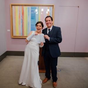 Bride breaks wrists twerking before wedding
