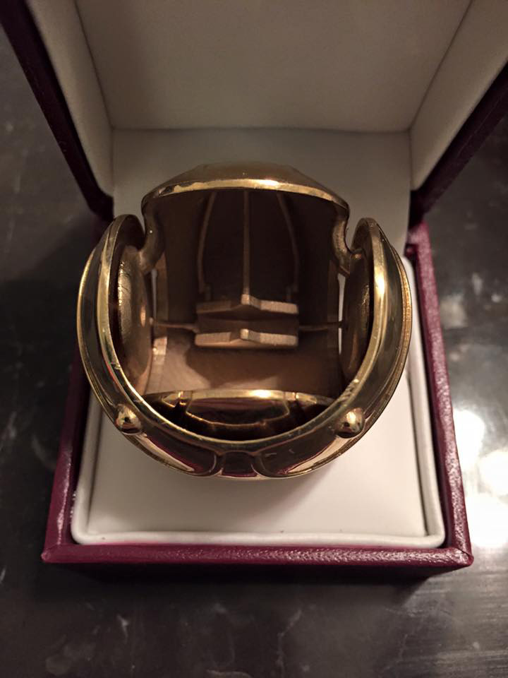 Harry Potter Golden Snitch Engagement Ring Box The Knot News