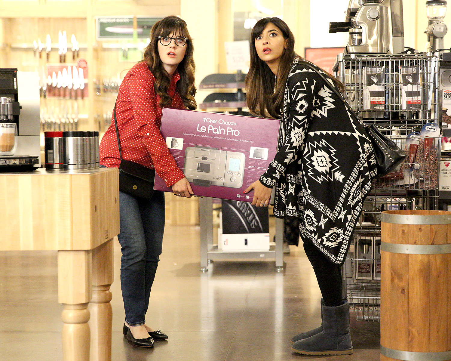 New Girl's Cece and Jess