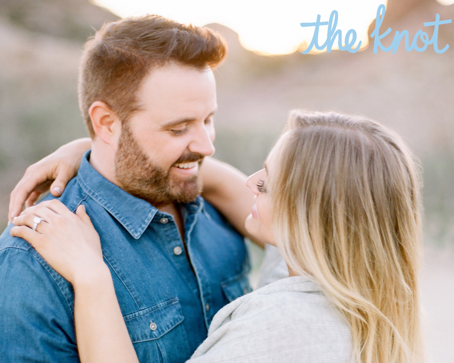 Randy Houser and Tatiana Starzynski engagement photos
