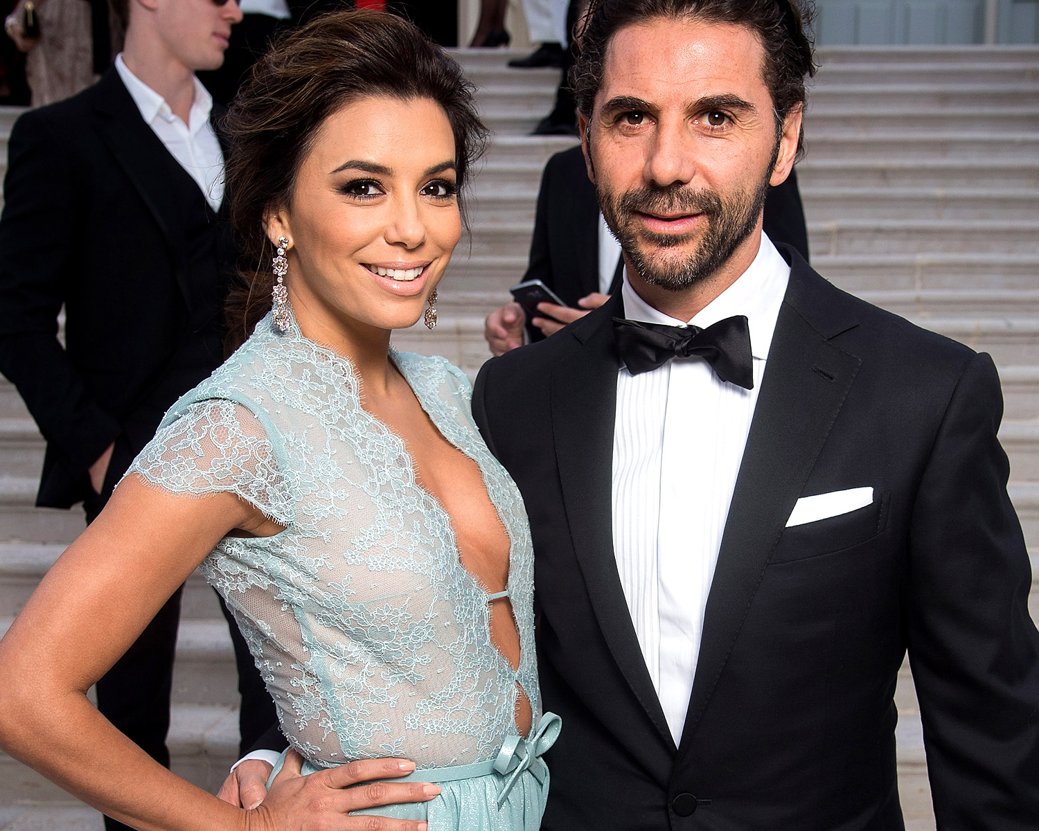 Eva Longoria's ex Tony Parker marries Axelle Francine in ...