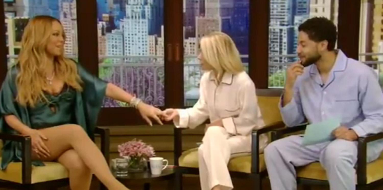Kelly Ripa Admires Mariah Careys Engagement Ring Video
