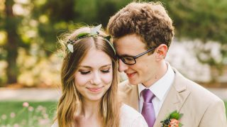 Halie and George teenage newlyweds
