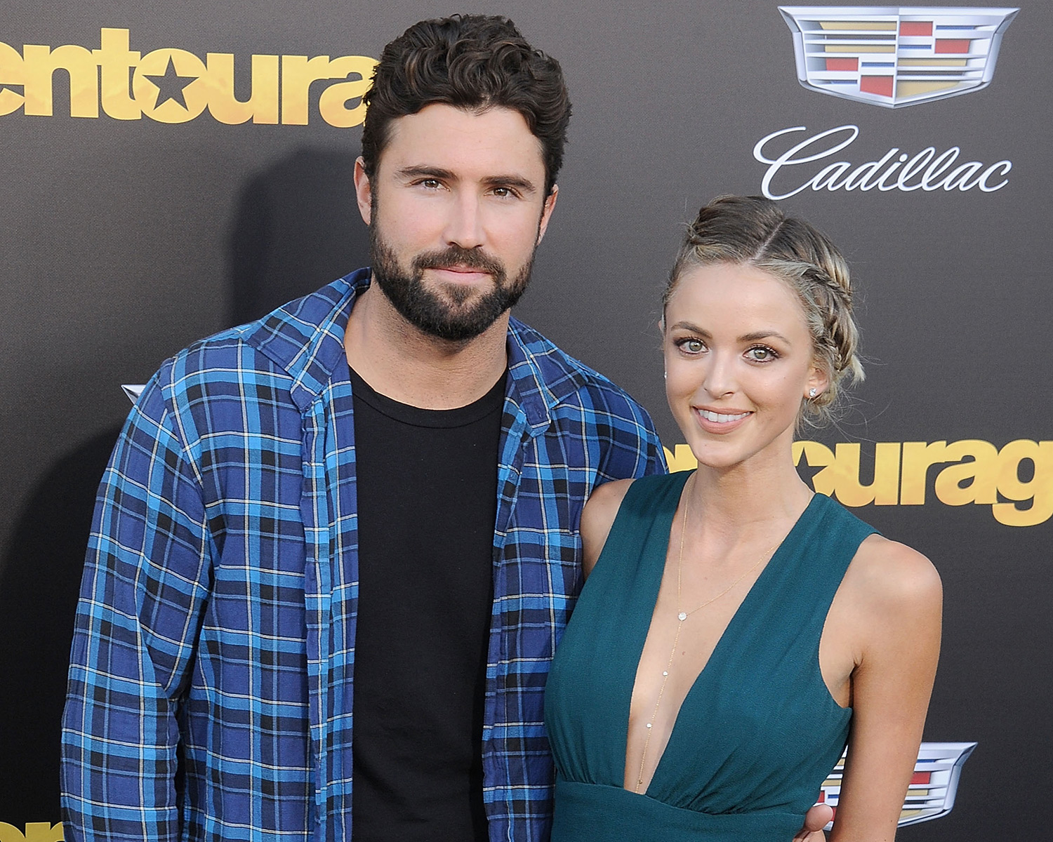 Brody Jenner Engaged To Kaitlynn Carter Engagement Pic