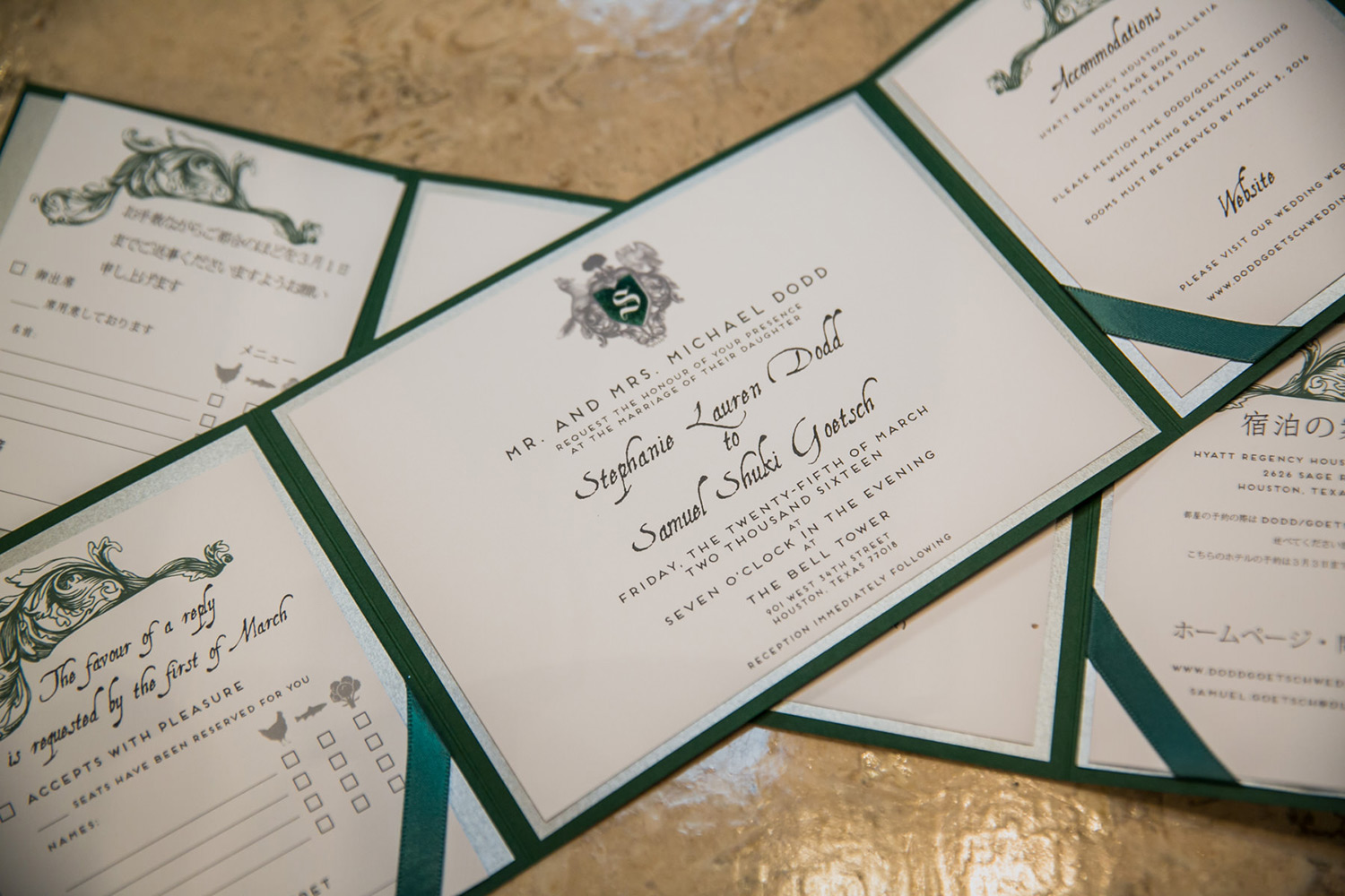 Ring Bearer Invitation Ideas