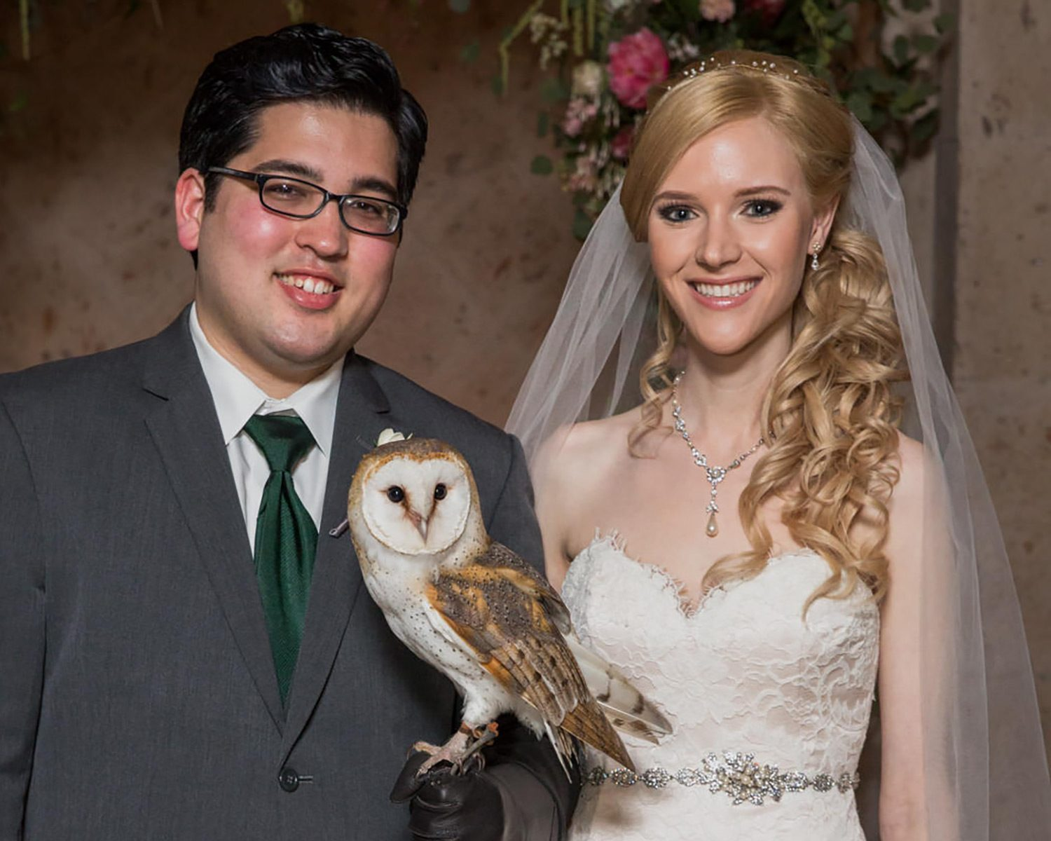 Harry Potter wedding owl ring bearer